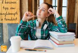 8 hasznos tipp, ami megkönnyíti a tanulást